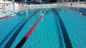 Photo piscine neptune